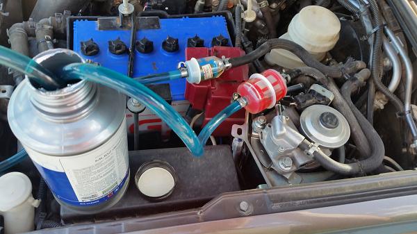 промывка бензиновой системы двигателя